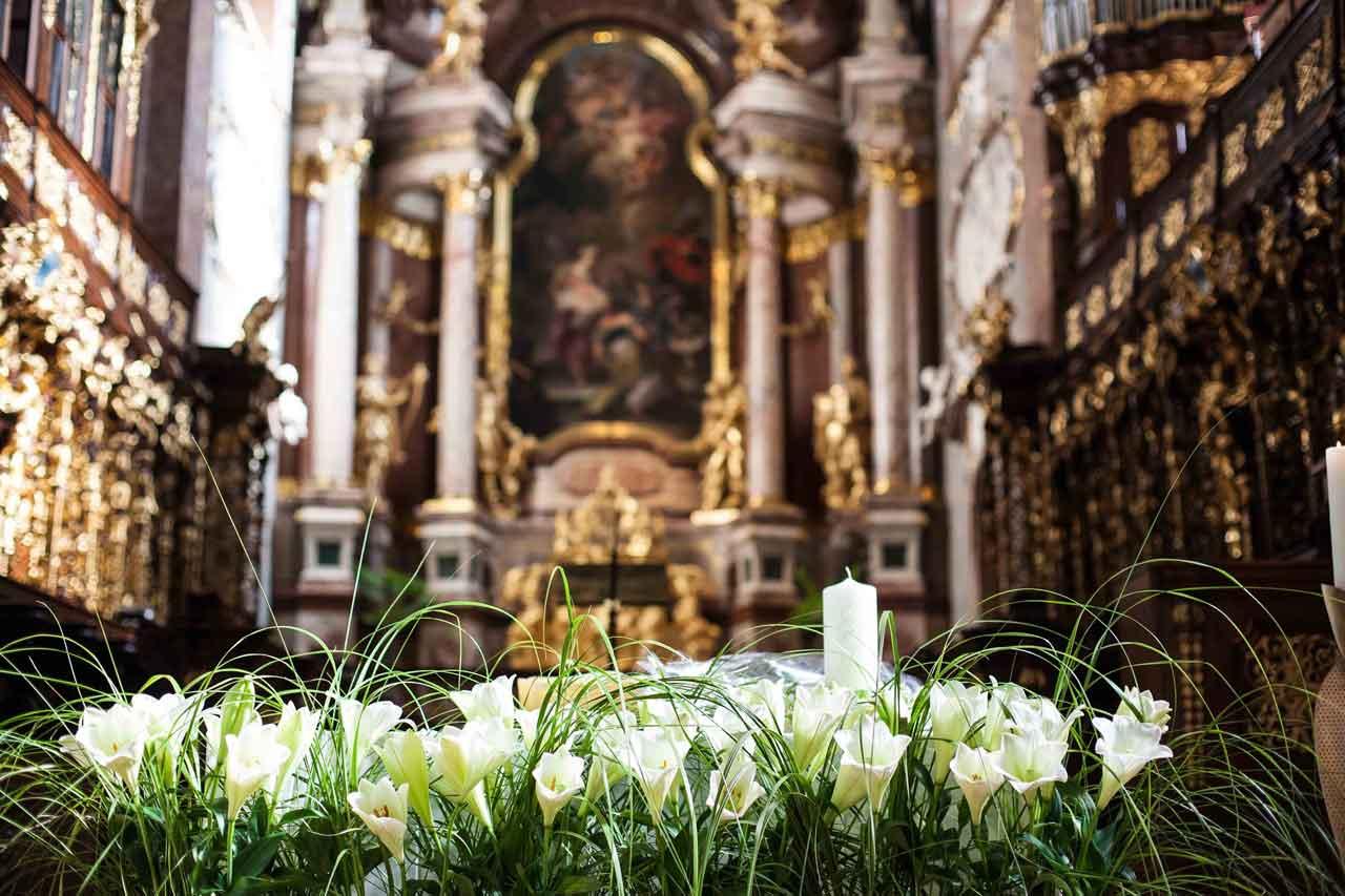 Blumen Hochzeit Kirche Glatz Blumen Glatz