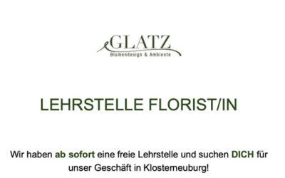 Lehrstelle Florist/in